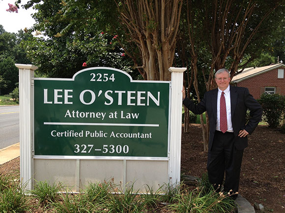 O'Steen Law Firm's Rock Hill Office